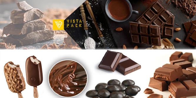بسته بندی شکلات